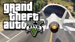 gta 5 online stunts flying jets through tunnels 2 gta v fails and funny moments