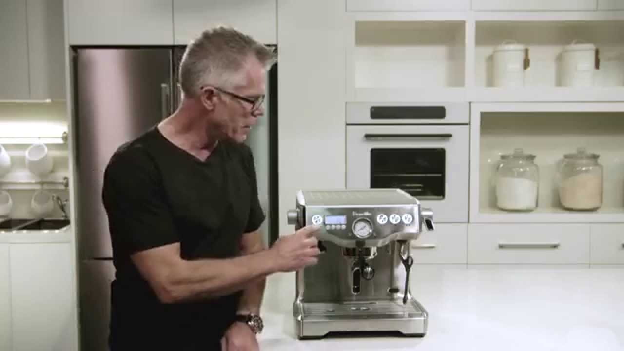 Breville Dual Boiler Espresso Machine - An Overview