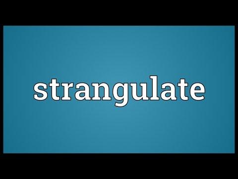 Header of strangulate