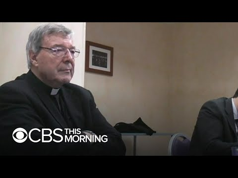 Video shows Cardinal George Pell confronting abuse allegations in police interview