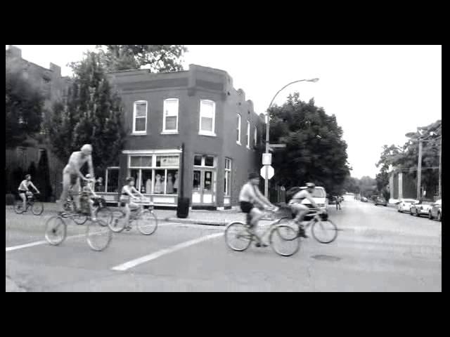2014 World Naked Bike Ride St. Louis