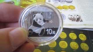 2014 Silver Chinese Panda Coin