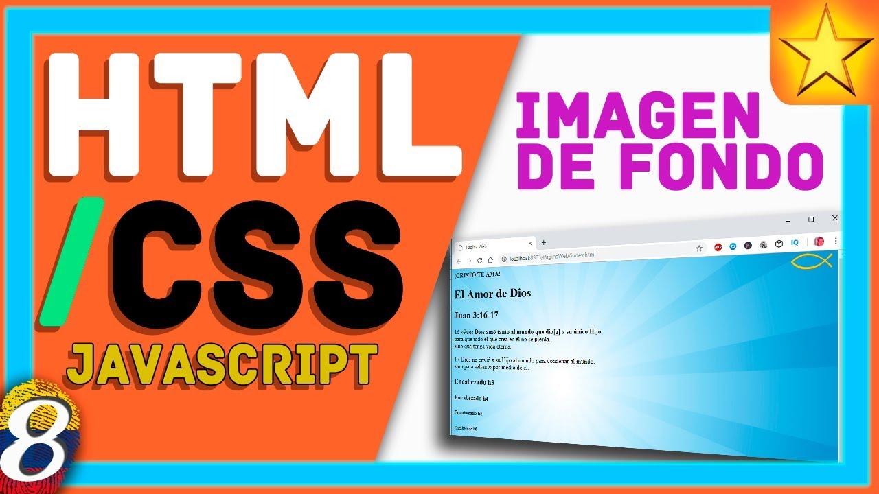 Imagenes fondo para paginas web html
