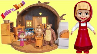 MASHA and the BEAR  Portable House Imaginative Toy Play