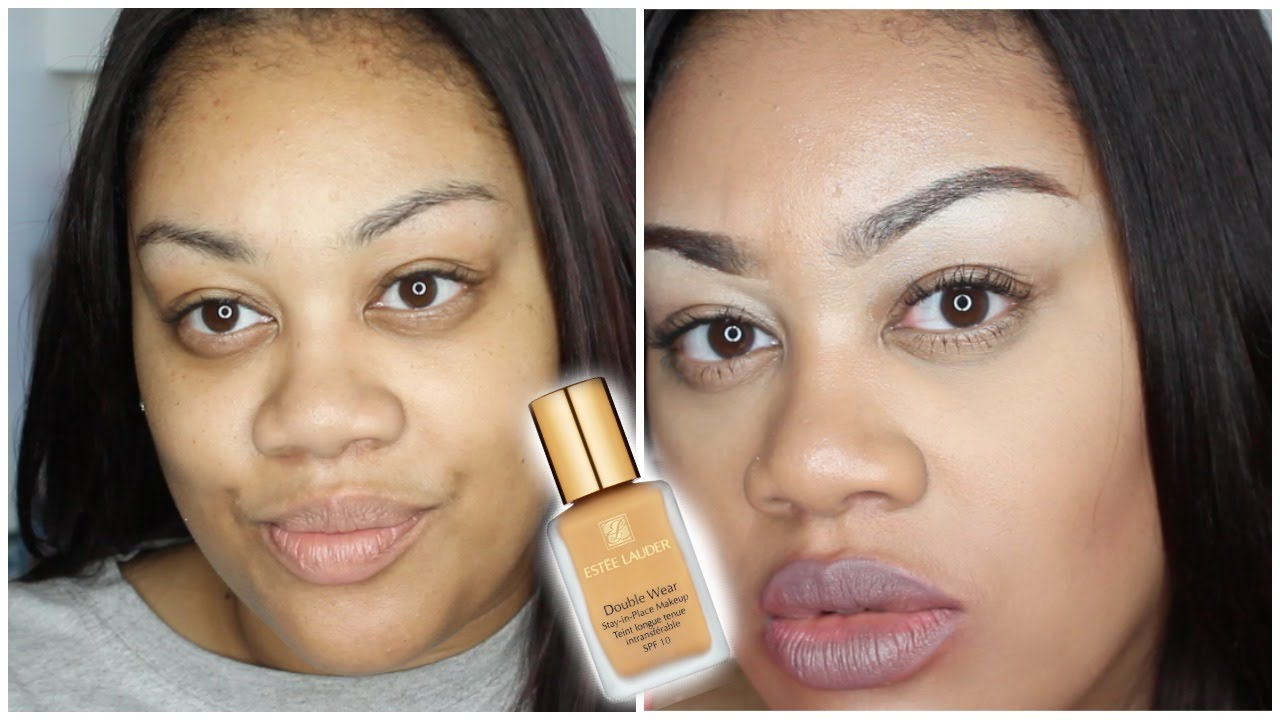 Estee Lauder Double Wear Foundation Review Demo Youtube