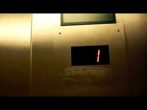 Westinghouse Hydraulic elevator at Western Pennsylvania Hospital Parking Garage