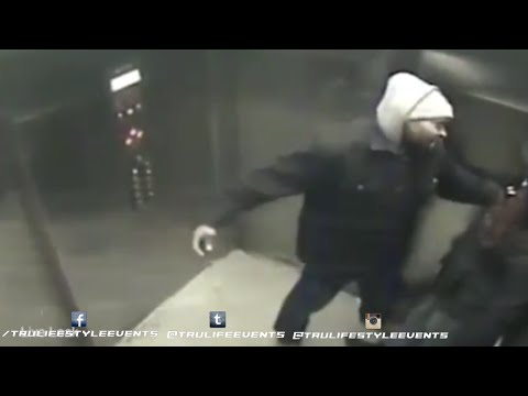 Shocking Footage of a Lady Stabbed on an Elevator in Philadelphia