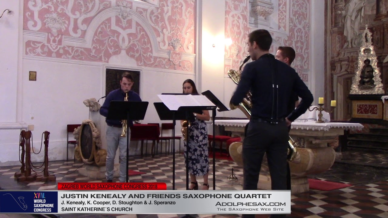 Sonate for for violin and continuo in E Minor by J S  Bach - Justin Kenealy & Friends