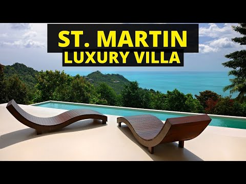 St. Maarten Villa Room Tour | SHAFEENTV