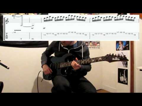 Steve Vai - Eugene's trick bag ( Crossroads ) - Cover and Tab