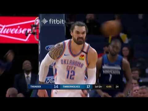 Minnesota Timberwolves vs Oklahoma City Thunder | January 13, 2020