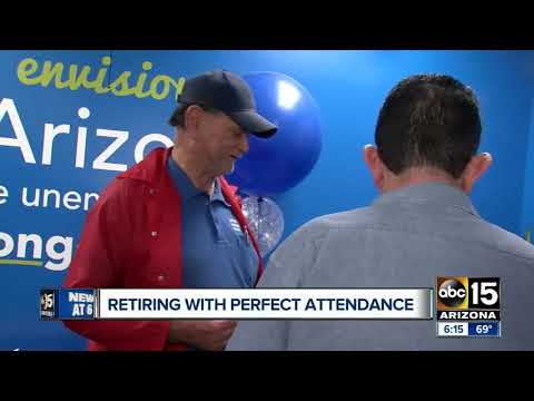Goodwill employee retires after 45 years!