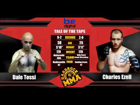 Hardrock MMA 87 Fight 9 Charles Ezell vs Dale Tossi 170 Ammy