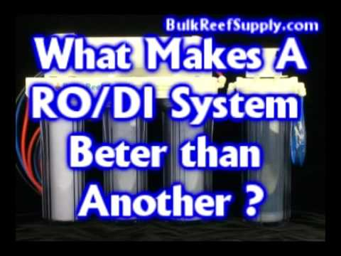 RO/DI 5 Stage BRS Reverse Osmosis Deionization Benefits - Bulk Reef Supply