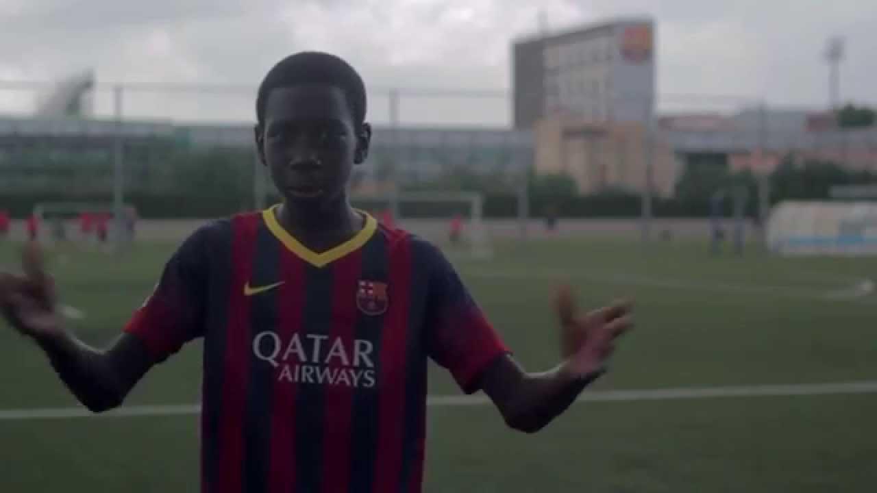 Fcbarcelona Residential Soccer Camp 2015 Youtube