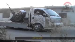Siria - Daraa Terroristas Son Baleados Por Todos Los Flancos - Septiembre 2013