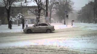 Николаев в снежном плену