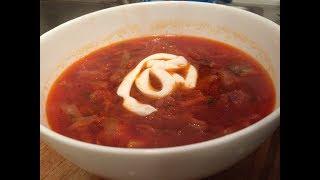 Classic Red Borscht Recipe, Beet Soup