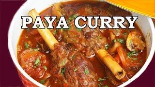 Yummy Paya Curry Recipe English Subtitle  | Mumbai Delicacy - Saas Bahu Recipes