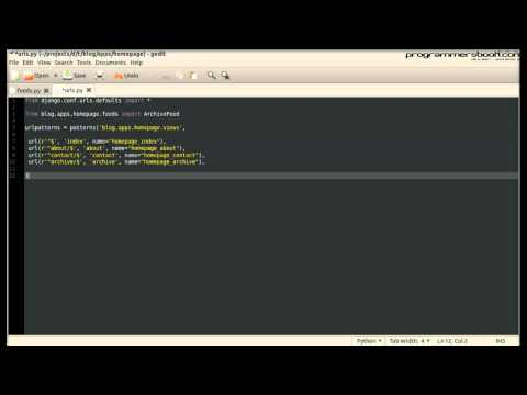 Rss Feed - Full Web Framework Python Django Tutorial XX Blog - Windows/Linux/Ubuntu