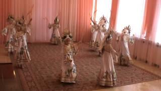 Танец с колосьями для детского сада.