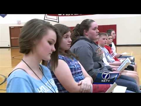 Treynor Middle School honors brave students Wednesday