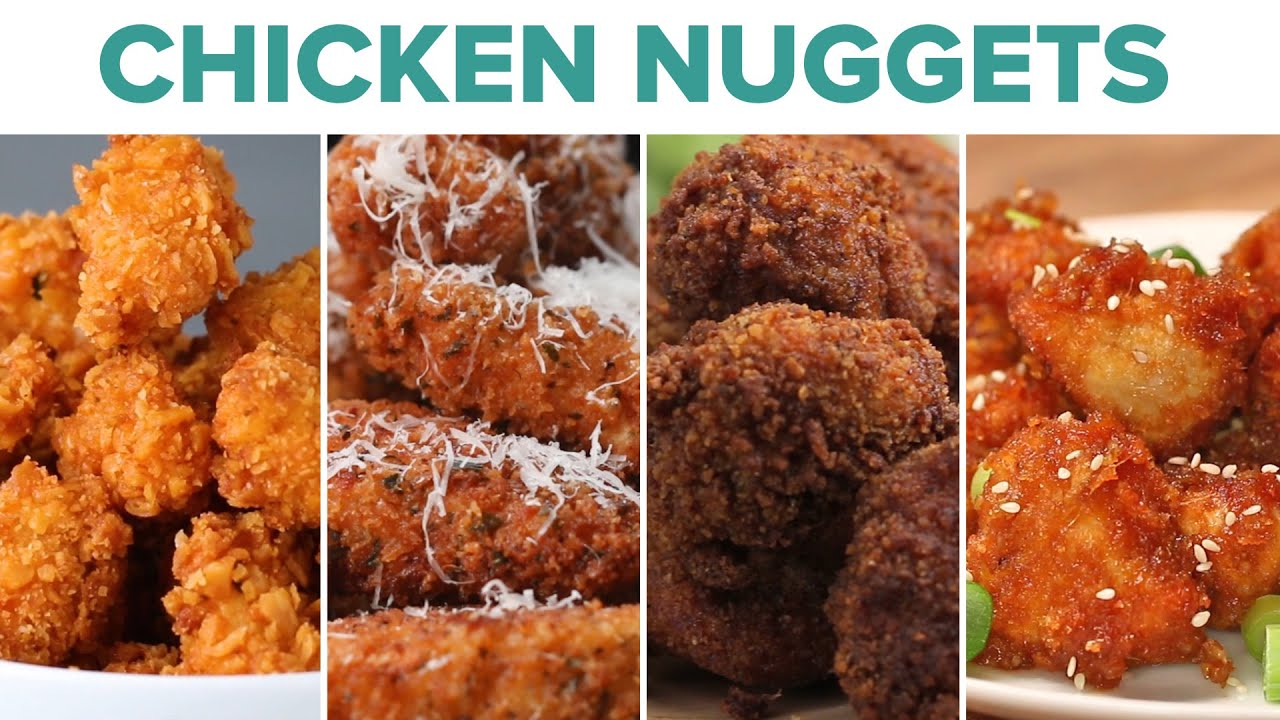 10 ways to make chicken nuggets youtube. Black Bedroom Furniture Sets. Home Design Ideas