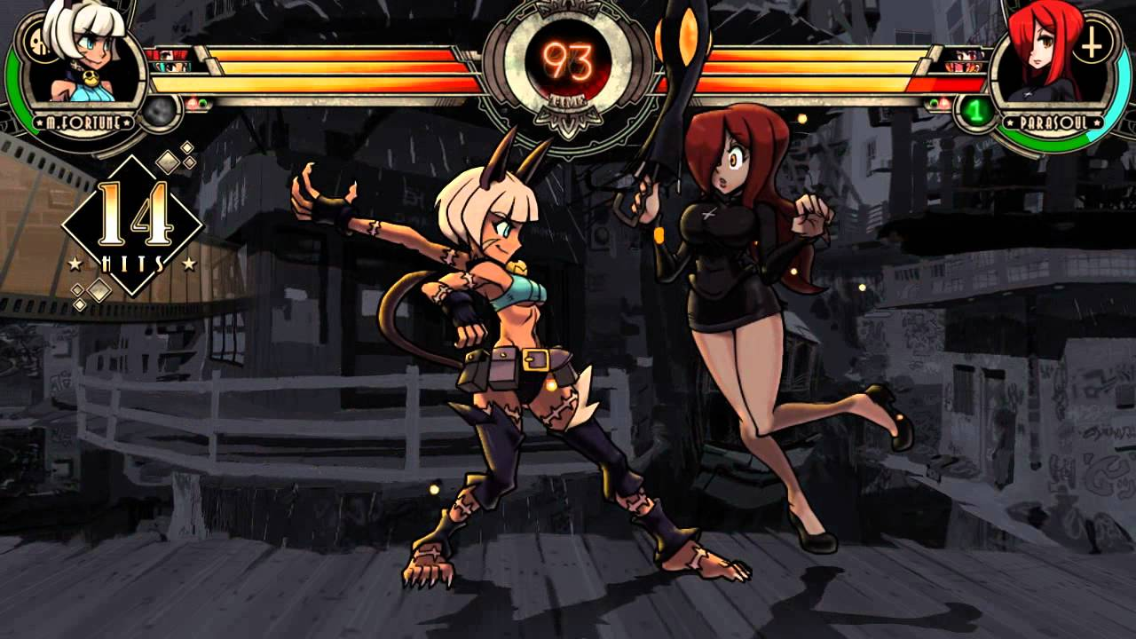 Cat Girl Anime Live Wallpaper Apk Skullgirls Ms Fortune Gets Her Head In The Game Youtube
