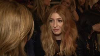 Nicola Roberts chats about Cheryl and Sarah at LFW