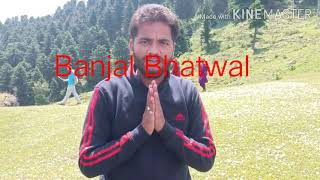 Apeal to Dr.  Jatinder Singh (MP) for Road and Tourist place at Banjal Bhatwal, sadrota, Dugain...