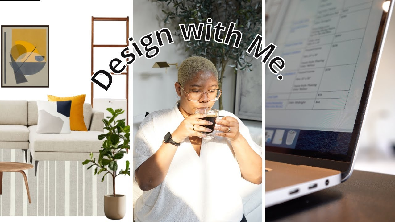 DAY IN MY LIFE as an Interior Designer & Full Time Youtuber   Client Projects & What I Really Do