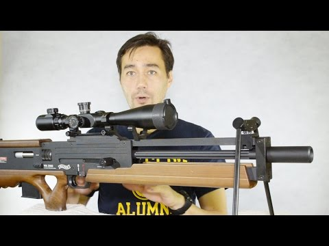 Обзор страйкбольной винтовки ARES WA2000