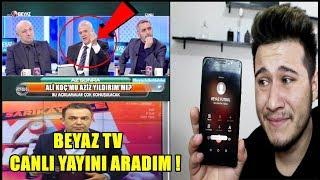 BEYAZ TV CANLI YAYINI AZİZ YILDIRIM SESİYLE TROLLEDİM !