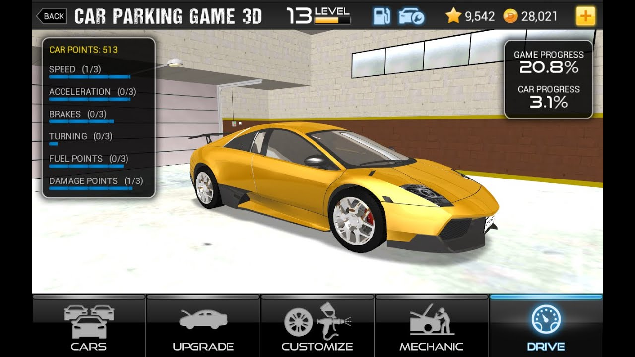 Car Parking Game 3d Gameplay Android New Parking Games