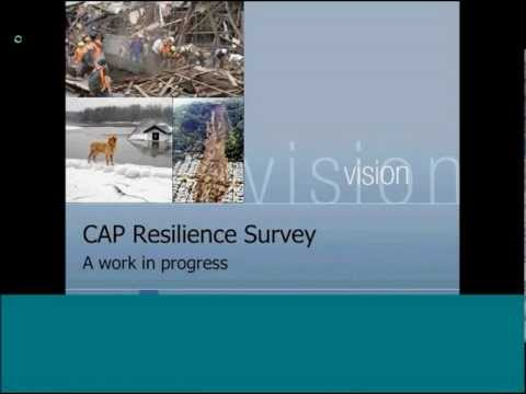 Susan Houston -  Preliminary results of a survey on resilience planning across the Commonwealth