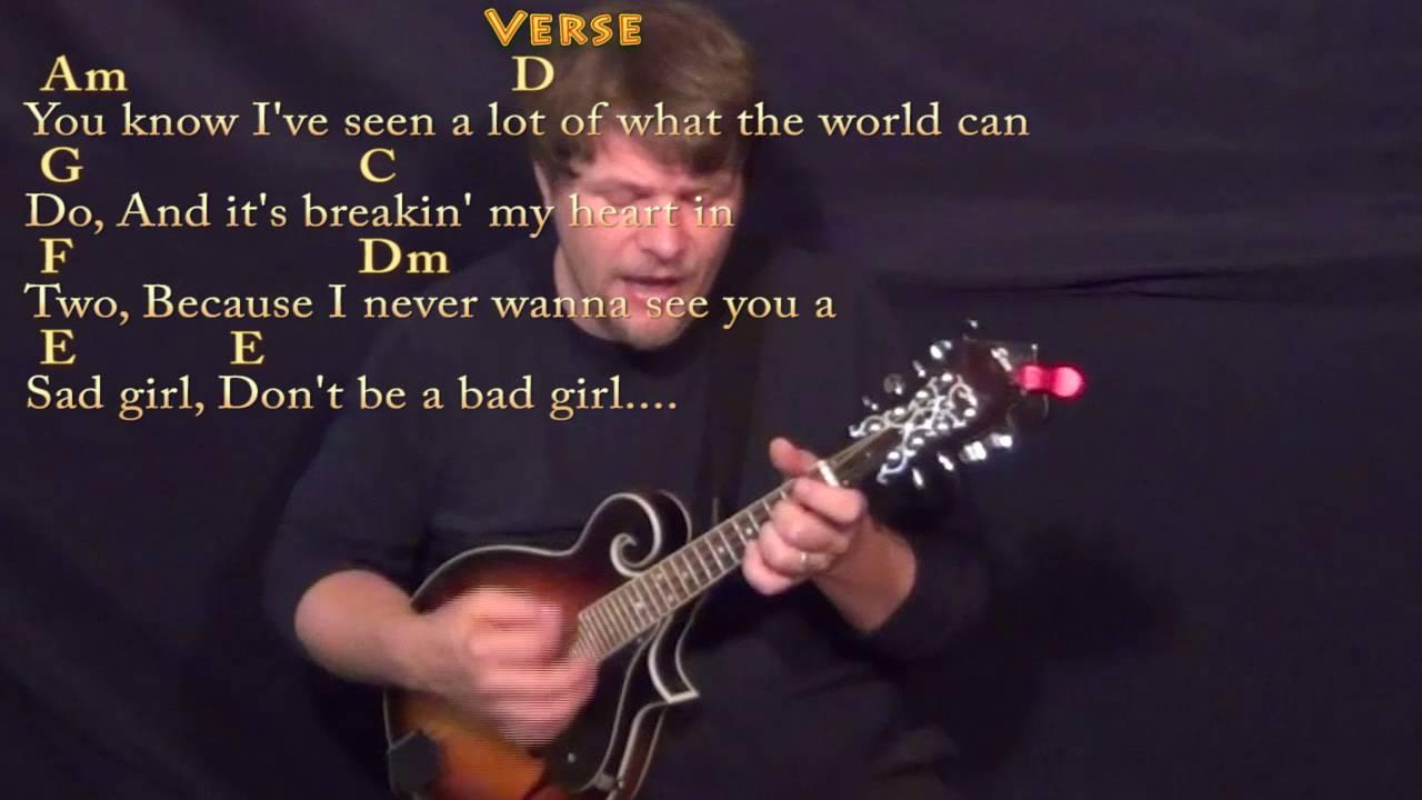 Wild World Cat Stevens Mandolin Cover Lesson With Chordslyrics