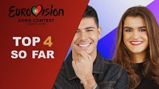 Eurovision 2018 [my top 4 so far W/ comments]
