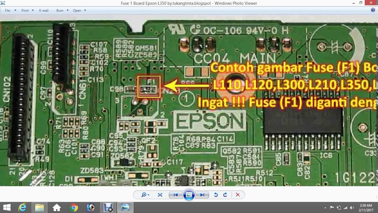 Epson Blank Paper And No Colour Youtube Timing Belt L110 L210 L300 L350 Original New