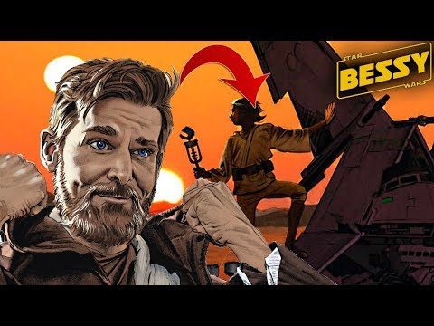 How Ben Kenobi Watched Over Luke as a Child(Canon) - Explain Star Wars