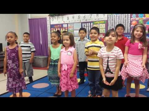 John Glenn Kindergarten Song 5-26-16