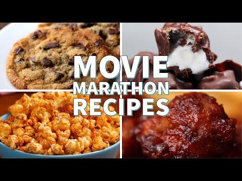 Perfect Recipes For A Movie Marathon