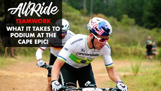 A REAL TEAM EFFORT // WHAT IT TAKES TO PODIUM AT THE CAPE EPIC