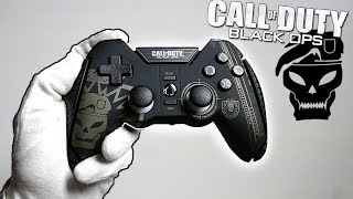 """BO1 """"PRECISION AIM"""" CONTROLLER UNBOXING! Official Call of Duty Black Ops Treyarch MadCatz Game Pad"""