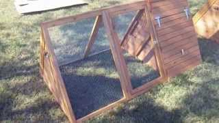 "Video Review - ""hen Pen"" Small Chicken Coop"
