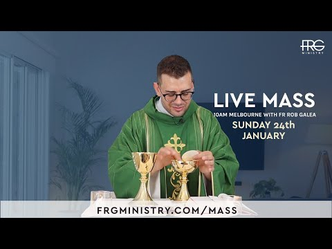 Mass on the 3rd Sunday with Fr. Rob Galea 24/1/2021