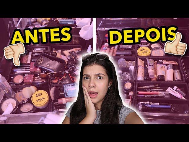 ARRUMANDO MINHA PENTEADEIRA!!! *fiz um tour*