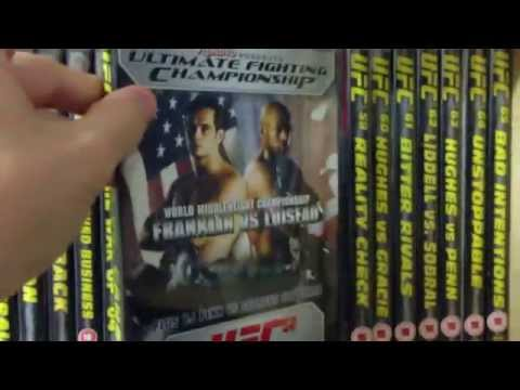 UFC DVD Collection 2013 (updated)