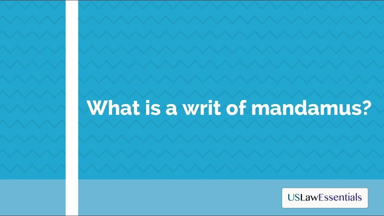 writ jurisdiction meaning