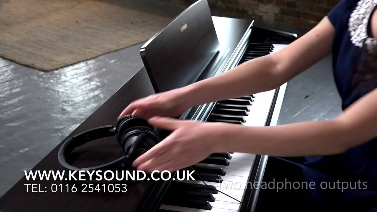 yamaha ydp143 digital piano demo youtube. Black Bedroom Furniture Sets. Home Design Ideas