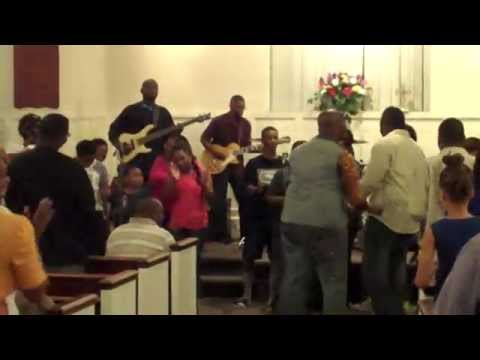 New Bethel Outreach singing